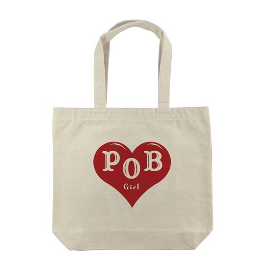 POB girl トートバッグ