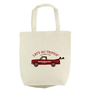 LET'S GO TRIPPIN' (redカー) エコバッグ