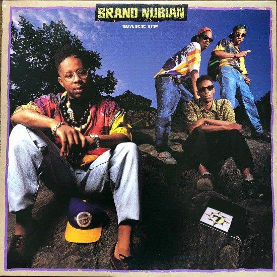 BRAND NUBIAN / WAKE UP (1990 US ORIGINAL)
