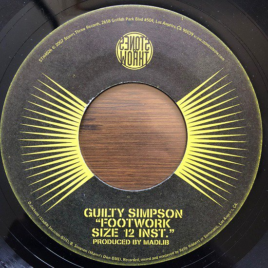 Guilty Simpson / Footwork
