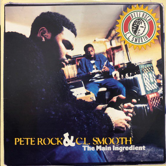 Pete Rock & C.L. Smooth / The Main Ingredient ( 94 US Original )