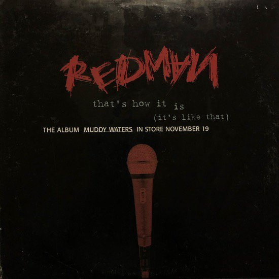 REDMAN / THAT'S HOW IT IS (IT'S LIKE THAT) (PROMO)