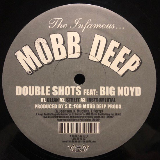 MOBB DEEP / DOUBLE SHOTS b/w FAVORITE RAPPER