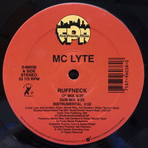 MC LYTE / RUFFNECK (93 US ORIGINAL)