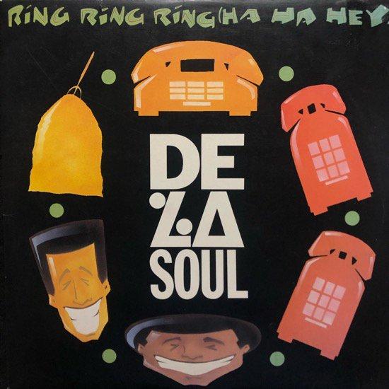 DE LA SOUL / RING RING RING (HA HA HEY) (91 US ORIGINAL )