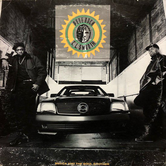 PETE ROCK & C.L. SMOOTH / MECCA AND THE SOUL BROTHER (92 US ORIGINAL)
