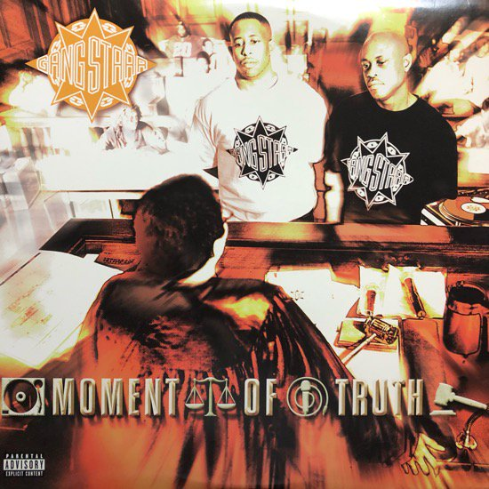 GANG STARR / MOMENT OF TRUTH (98 US ORIGINAL)