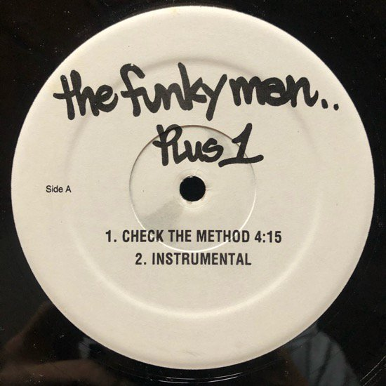 THE FUNKY MEN (LORD FINESSE)  / CHECK THE METHOD b/w DO YOUR THING