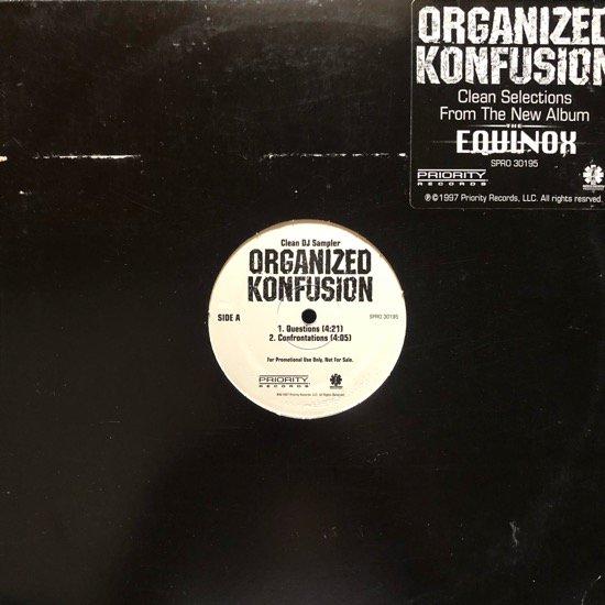 ORGANIZED KONFUSION / CLEAN DJ SAMPLER (PROMO)