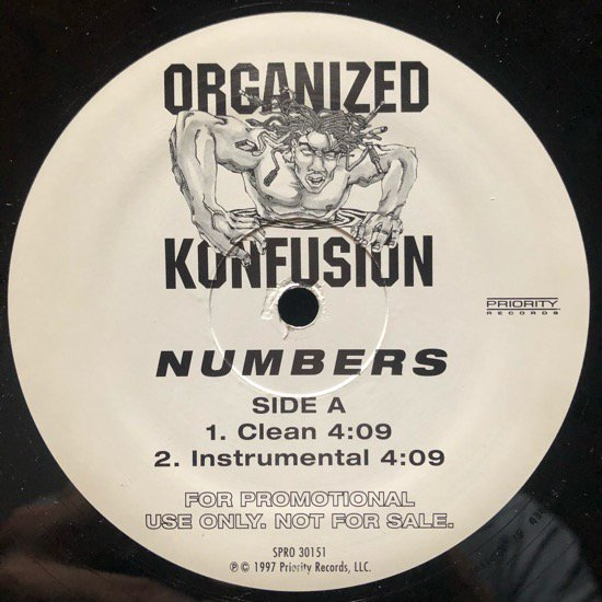 ORGANIZED KONFUSION / NUMBERS (PROMO)