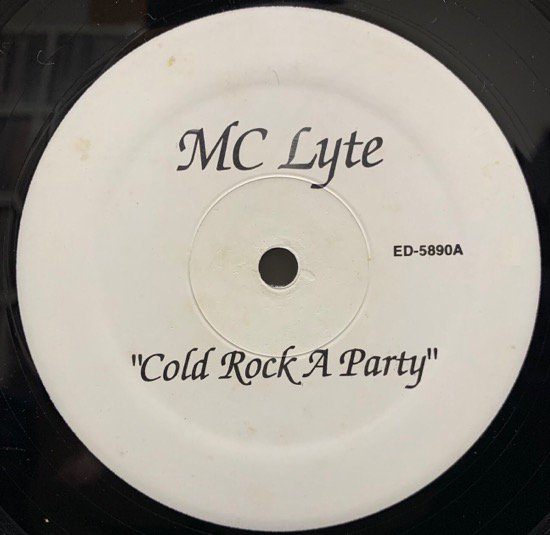 MC LYTE / COLD ROCK A PARTY (PROMO)