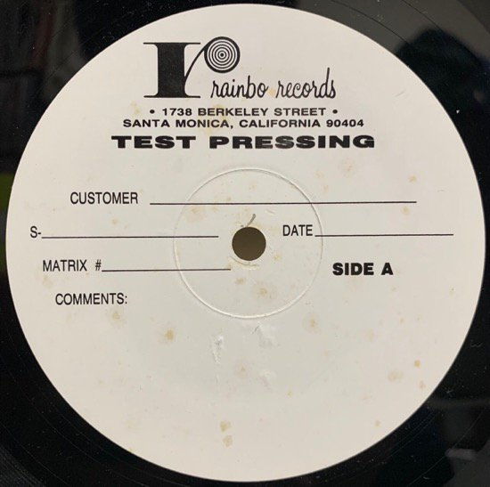 THE PHARCYDE / BIZARRE RIDE II THE PHARCYDE INSTRUMENTALS ( Very Rare Test Pressing )