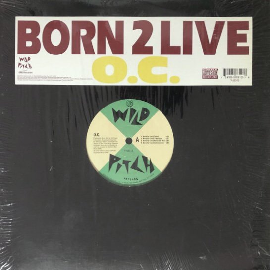 O.C.  / BORN 2 LIVE (94 US ORIGINAL )