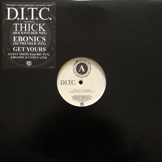 D.I.T.C. / D.I.T.C. (US ORIGINAL PROMO ONLY)