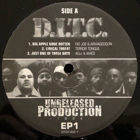 D.I.T.C. / UNRELEASED PRODUCTION 1994 EP1