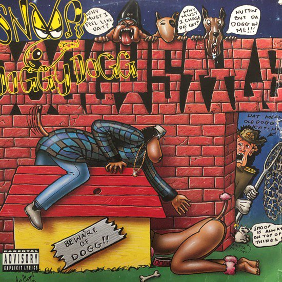 SNOOP DOGGY DOGG / DOGGYSTYLE (93 GER ORIGINAL)