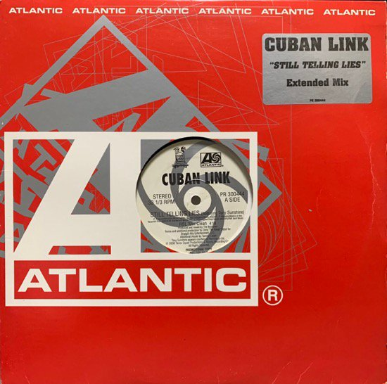CUBAN LINK / STILL TELLING LIES (RBL MIX) (US PROMO ONLY VERY RARE PRESSING)