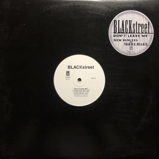 BLACKSTREET / DON'T LEAVE ME (REMIXES) (PROMO)