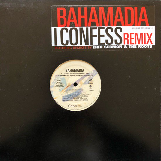 BAHAMADIA / I CONFESS (The Roots Remix) (PROMO)