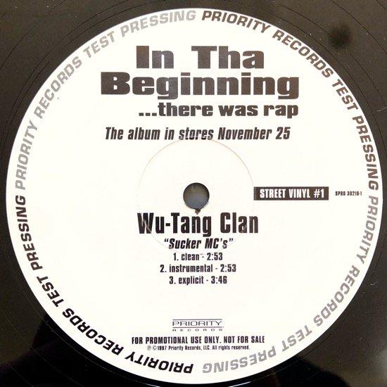 WU-TANG CLAN  / SUCKER MC'S b/w TOO $HORT / I NEED A FREAK (PROMO)