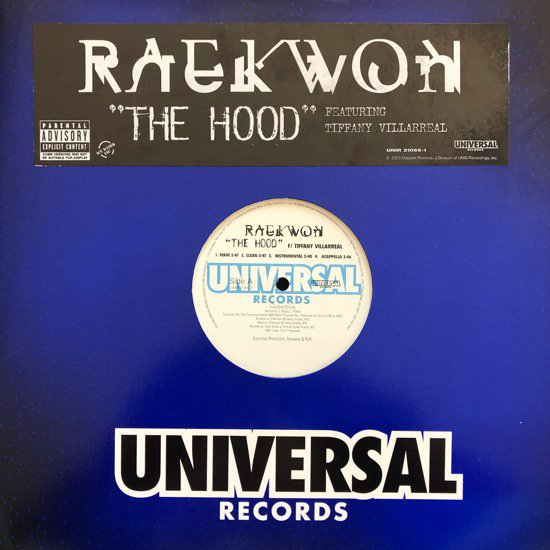 RAEKWON / THE HOOD b/w CLIENTELE KIDD (2003 US PROMO ONLY)