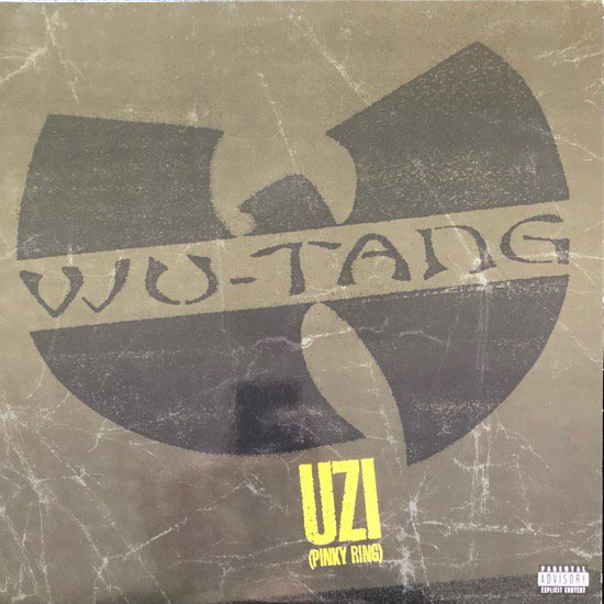 WU-TANG CLAN / UZI (PINKY RING) b/w YA'LL BEEN WARNED (2001 US ORIGINAL)
