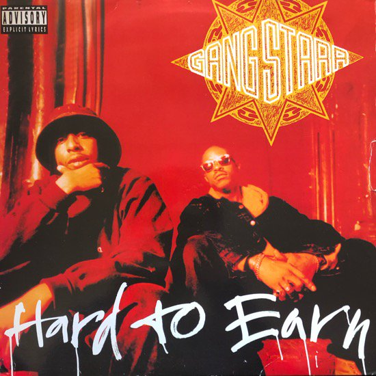 GANG STARR / HARD TO EARN (94 EU ORIGINAL)