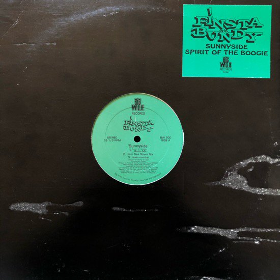 FINSTA AND BUNDY / SUNNYSIDE b/w SPIRIT OF THE BOOGIE (93 US ORIGINAL)