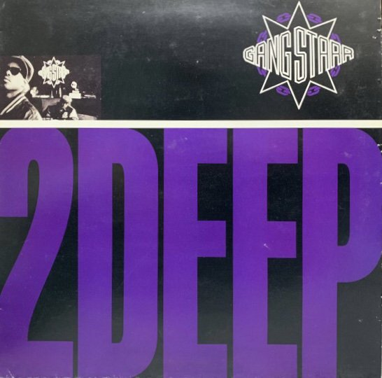 GANG STARR / 2 DEEP ( 92 UK ORIGINAL )