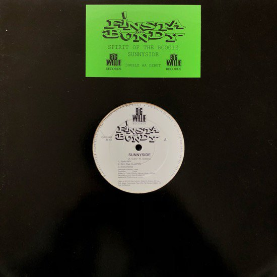 FINSTA AND BUNDY / SUNNYSIDE b/w SPIRIT OF THE BOOGIE