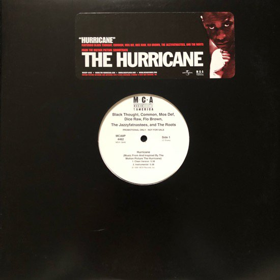 BLACK THOUGHT, COMMON, DICE RAW, FLO BROWN, MOS DEF, JAZZYFATNASTEES & THE ROOTS / HURRICANE (PROMO)