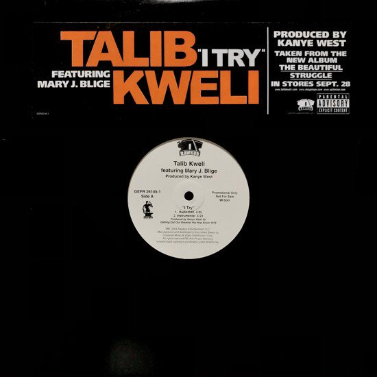 TALIB KWELI FEATURING MARY J. BLIGE / I TRY (PROMO)