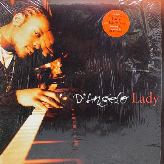 D'ANGELO / LADY (96 US ORIGINAL)