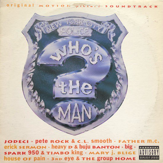 O.S.T. / WHO'S THE MAN? (ORIGINAL MOTION PICTURE SOUNDTRACK) (93 US ORIGINAL)