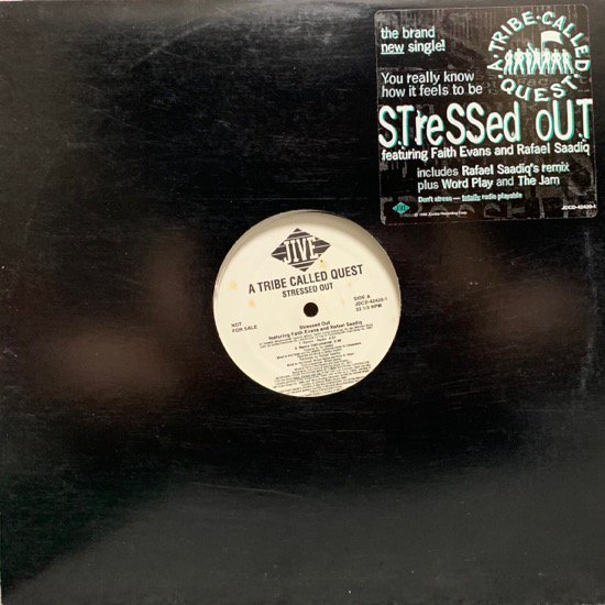 A TRIBE CALLED QUEST / STRESSED OUT (REMIX) / Tha Jam / Word Play (96 US PROMO ONLY)