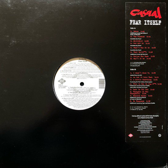 CASUAL / FEAR ITSELF (1994 US ORIGINAL)