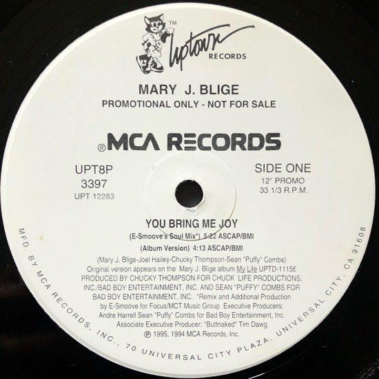 MARY J. BLIGE / YOU BRING ME JOY (PROMO)