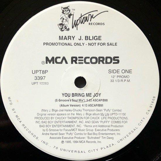 MARY J. BLIGE / YOU BRING ME JOY (PROMO)