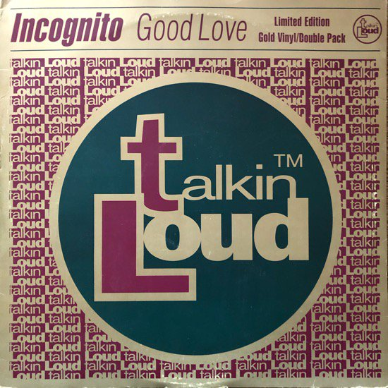 INCOGNITO / GOOD LOVE (1995 UK ORIGINAL )