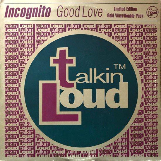INCOGNITO / GOOD LOVE (1995 UK ORIGINAL )