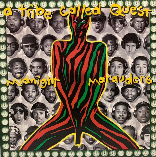 A TRIBE CALLED QUEST / MIDNIGHT MARAUDERS (1993 US ORIGINAL)