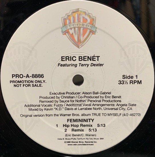 ERIC BENÉT / FEMININITY(Remix) (PROMO)