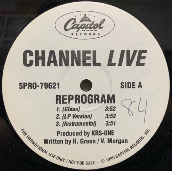 CHANNEL LIVE / REPROGRAM (REMIX) (PROMO)