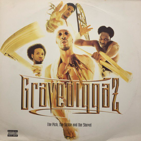 GRAVEDIGGAZ / THE PICK, THE SICKLE AND THE SHOVEL (1997 US ORIGINAL )