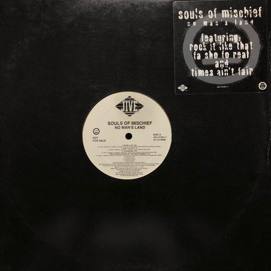 SOULS OF MISCHIEF / NO MAN'S LAND (95 US RARE PROMO)