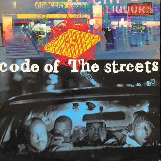 GANG STARR / CODE OF THE STREETS (1994 US ORIGINAL)