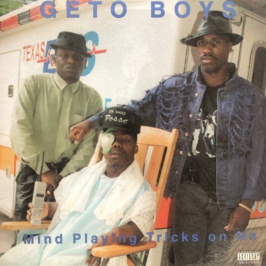 GETO BOYS / MIND PLAYING TRICKS ON ME (1991 US ORIGINAL)