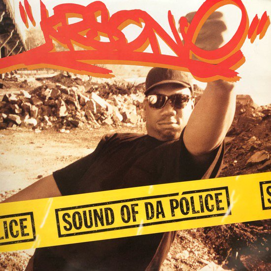 KRS-One / SOUND OF DA POLICE (1993 US ORIGINAL)