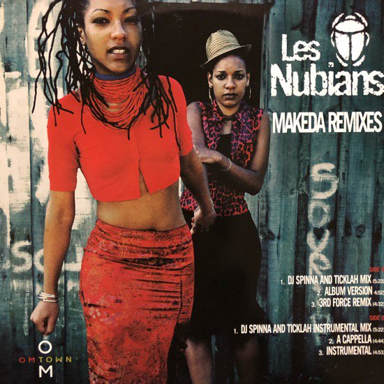 LES NUBIANS / MAKEDA (DJ Spinna REMIXES) (1998 US PROMO ONLY)