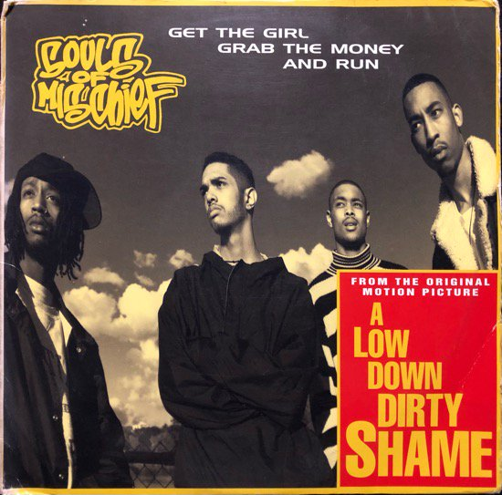 SOULS OF MISCHIEF / GRAB THE MONEY & RUN / CASUAL GET  THE GIRL / LATER ON (PROMO)
